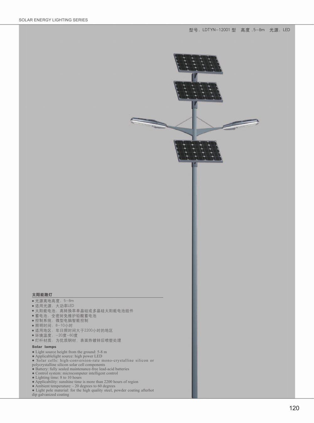 太阳能照明系列-025